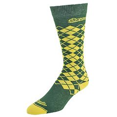 Women's Mojo Oregon Ducks Argyle Socks