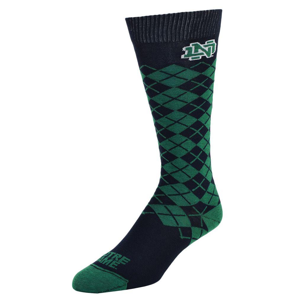 Women's Mojo Notre Dame Fighting Irish Argyle Socks