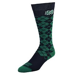 Women's Mojo Notre Dame Fighting Irish Argyle Socks