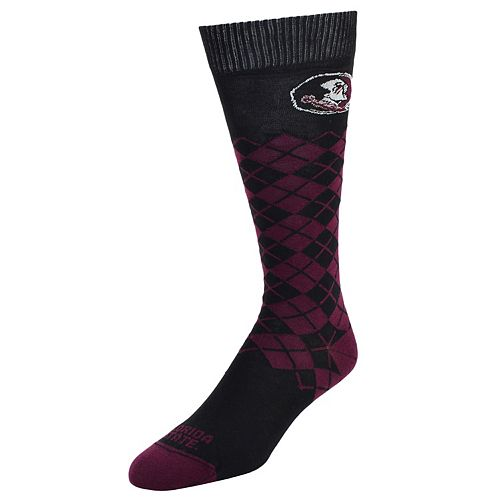 Women's Mojo Florida State Seminoles Argyle Socks