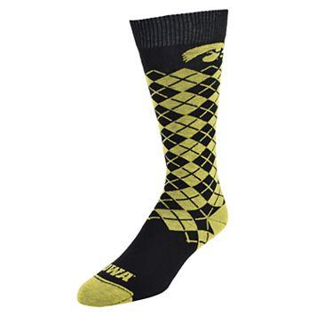 Women's Mojo Iowa Hawkeyes Argyle Socks
