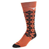 Women's Mojo Texas Longhorns Argyle Socks