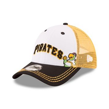 Youth New Era Pittsburgh Pirates Logo Play 9FORTY Adjustable Cap