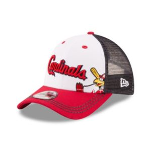 Youth New Era St. Louis Cardinals Logo Play 9FORTY Adjustable Cap