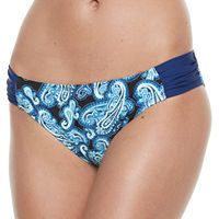 Women's Breaking Waves Paisley Bikini Bottoms