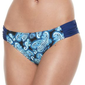 Women's Breaking Waves Paisley Bikini Bottoms