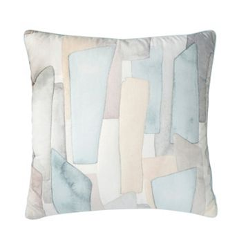 Shell Rummel Sea Glass Mosaic Throw Pillow - 18'' x 18''