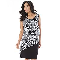 Women's AB Studio Print Popover Shift Dress