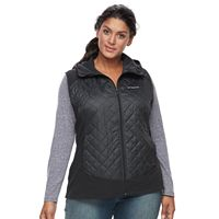 Plus Size Columbia Warmer Days Hooded Thermal Coil Vest