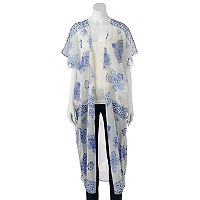 Mudd® Long Floral Kimono
