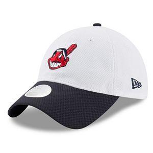 Women's New Era Cleveland Indians 9TWENTY Perfect Adjustable Cap