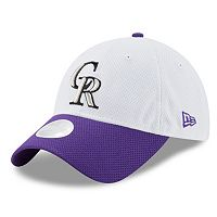 Women's New Era Colorado Rockies 9TWENTY Perfect Adjustable Cap
