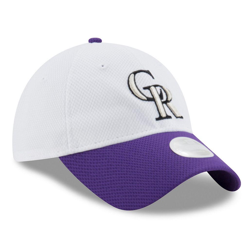 Women's New Era Colorado Rockies 9TWENTY Perfect Adjustable Cap