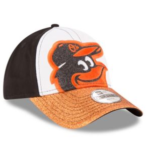 Youth New Era Baltimore Orioles Shimmer Shine 9FORTY Adjustable Cap