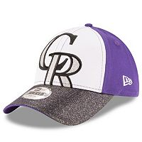 Youth New Era Colorado Rockies Shimmer Shine 9FORTY Adjustable Cap