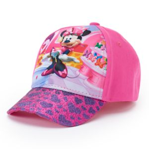 Disney's Minnie Mouse Toddler Girl 3D Graphic Cap