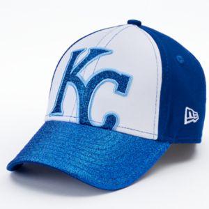 Youth New Era Kansas City Royals Shimmer Shine 9FORTY Adjustable Cap