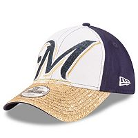 Youth New Era Milwaukee Brewers Shimmer Shine 9FORTY Adjustable Cap