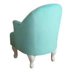 HomePop Kids Velvet Accent Chair