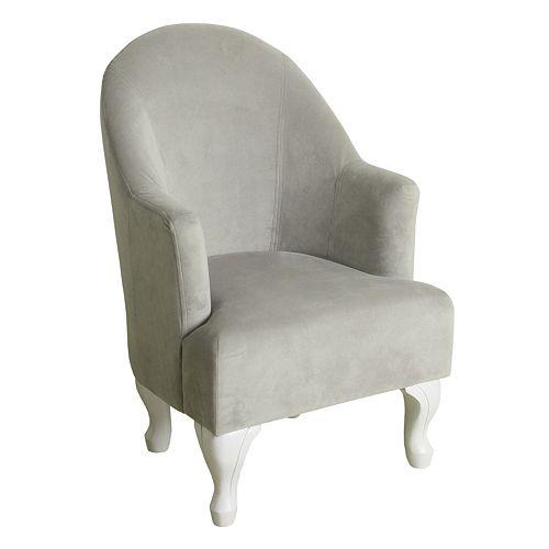 HomePop Kids Velvet Accent Chair