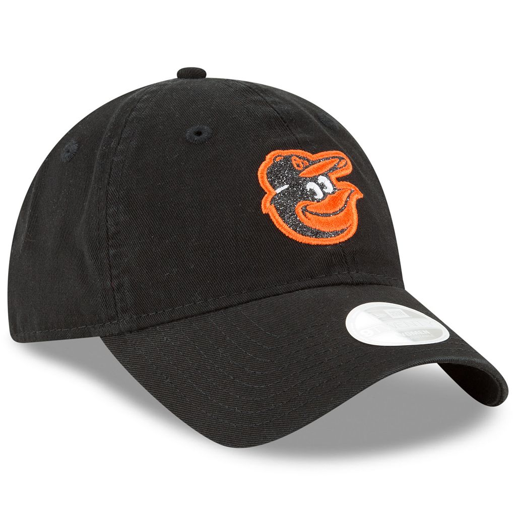 Women's New Era Baltimore Orioles 9TWENTY Glisten Adjustable Cap