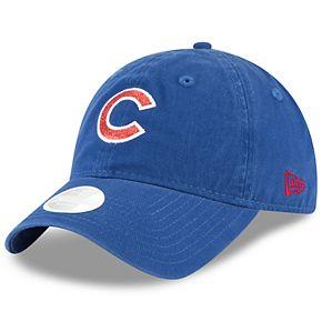 Women's New Era Chicago Cubs 9TWENTY Glisten Adjustable Cap