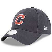 Women's New Era Cleveland Indians 9TWENTY Glisten Adjustable Cap