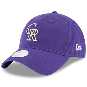 Women's New Era Colorado Rockies 9TWENTY Glisten Adjustable Cap