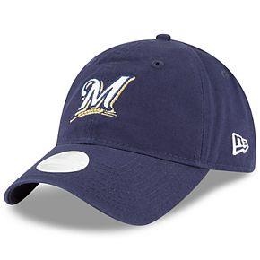 Women's New Era Milwaukee Brewers 9TWENTY Glisten Adjustable Cap