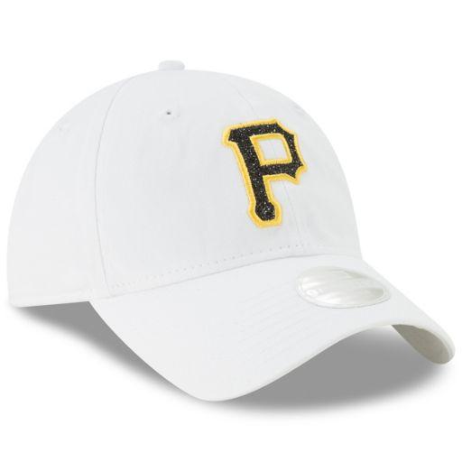 Women's New Era Pittsburgh Pirates 9TWENTY Glisten Adjustable Cap