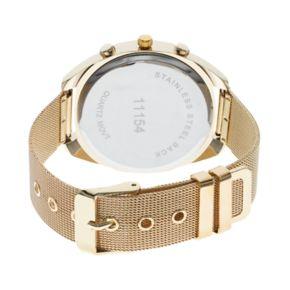 Women's Mesh Crystal Watch