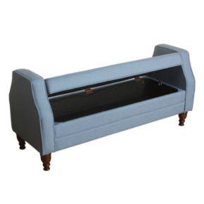 HomePop Emily Settee Storage Bench