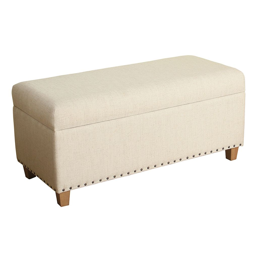 HomePop Lauren Storage Bench