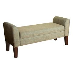 HomePop Tara Settee Storage Bench