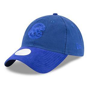Women's New Era Chicago Cubs 9TWENTY Twisted Tonal Adjustable Cap
