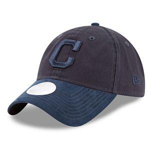 Women's New Era Cleveland Indians 9TWENTY Twisted Tonal Adjustable Cap
