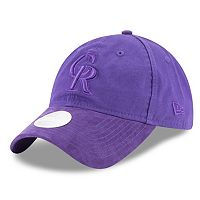 Women's New Era Colorado Rockies 9TWENTY Twisted Tonal Adjustable Cap
