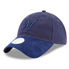 Women's New Era Milwaukee Brewers 9TWENTY Twisted Tonal Adjustable Cap