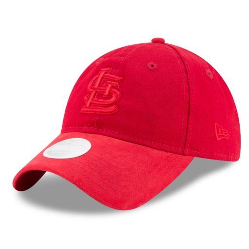 Women's New Era St. Louis Cardinals 9TWENTY Twisted Tonal Adjustable Cap