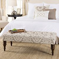 HomePop Taylor Tufted Bench