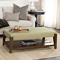 HomePop Brook Ottoman Coffee Table
