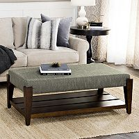 HomePop Brook Ottoman Coffee Table