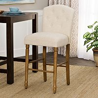HomePop Delilah Tufted Bar Stool