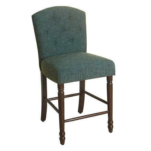 HomePop Delilah Tufted Counter Stool