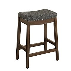 HomePop Blake Backless Counter Stool
