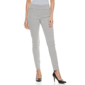 Women's Apt. 9® Millennium Geometric Skinny Dress Pants