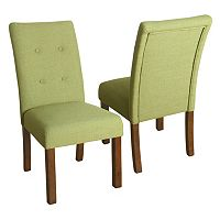 HomePop Kristin Tufted Dining Chair 2-piece Set