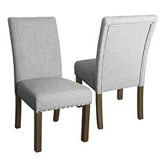 HomePop Michele Dining Chair 2-piece Set