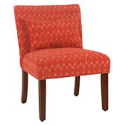 HomePop Parker Printed Accent Chair & Pillow 2 pc Set