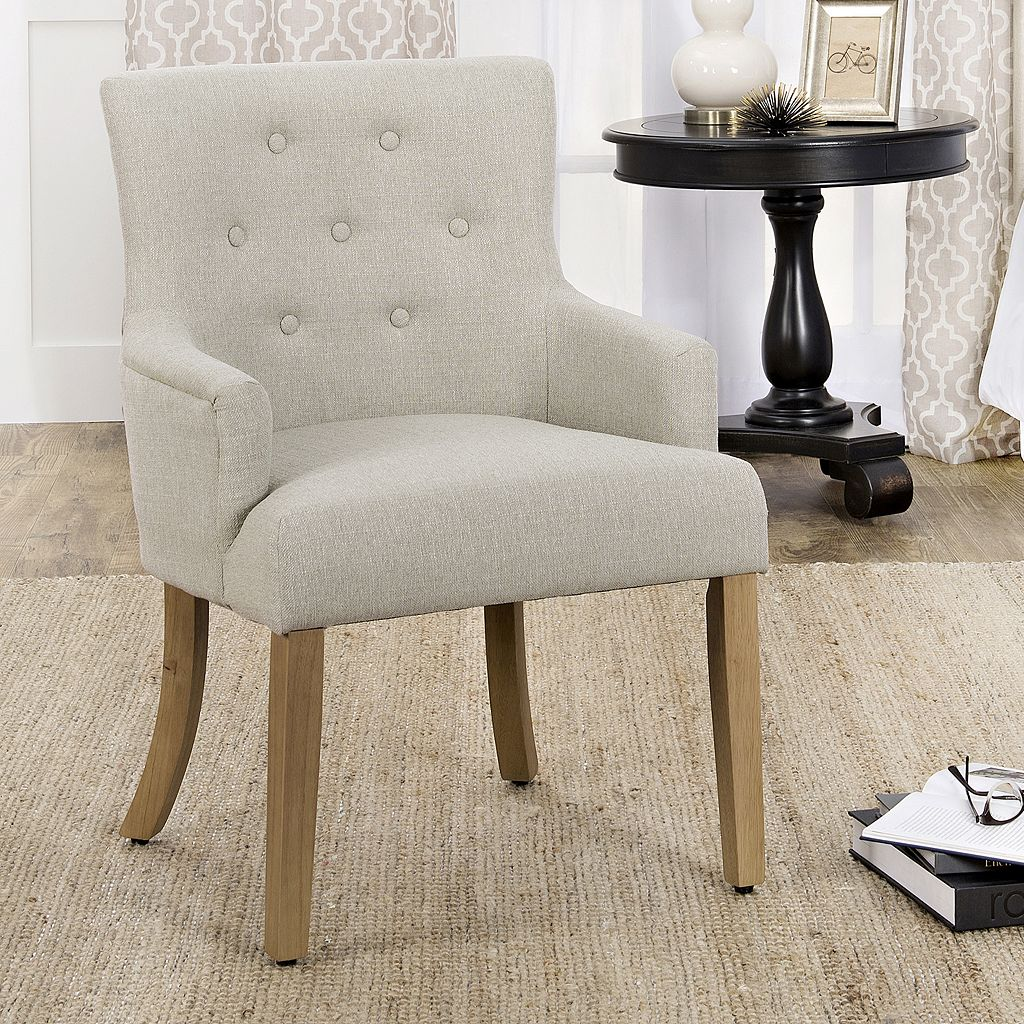 HomePop Logan Tufted Accent Chair